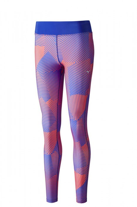 Mizuno Phenix Printed Long Tights