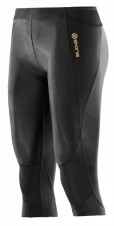 Nohavice – Skins A400 Womens Black 3/4 Tights