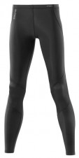 Nohavice – Skins A400 Womens Black/Silver Long Tights