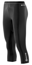 Nohavice – Skins Bio S400 - Thermal Womens Black/Graphite/White 3/4 Tights
