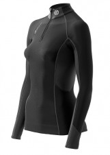 Tričká – Skins Bio S400 - Thermal Womens  Long Sleeve Top -zip