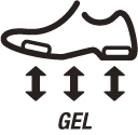 Rearfoot and Forefoot GEL®